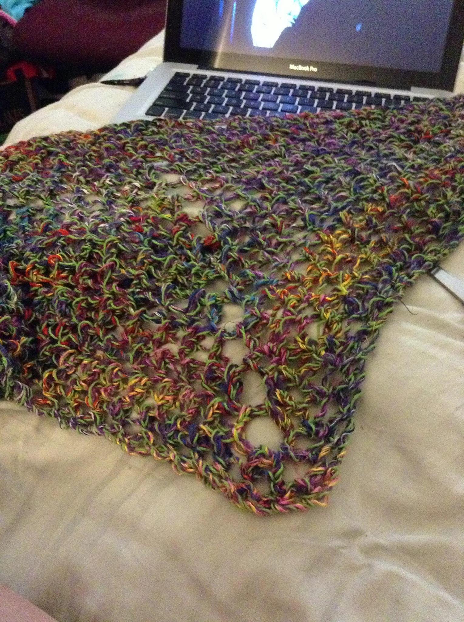 triangle scarf