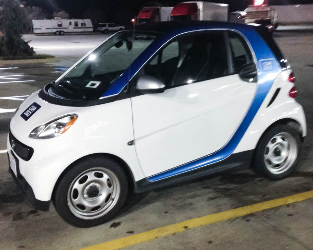 A Car2Go Adventure