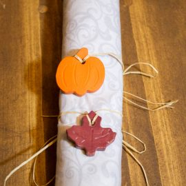 Tutorial for Autumn Napkin Charms