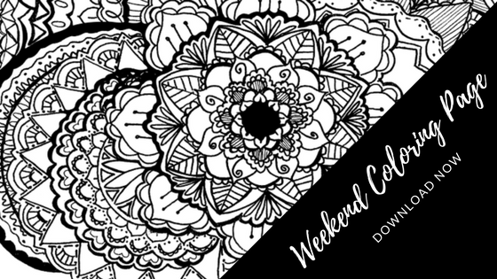 Weekend Coloring Page