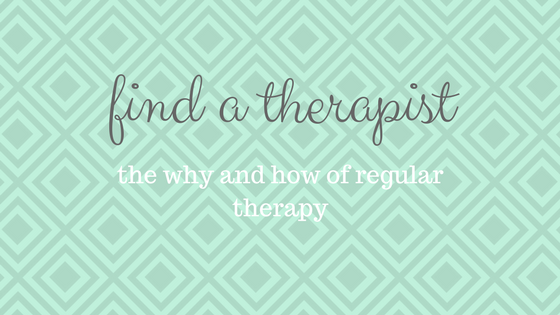 Find a Therapist: Part I